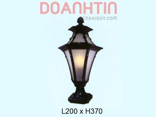 Đèn Cổng Đẹp Thiết Kế Nhẹ Nhàng - Densaigon.com