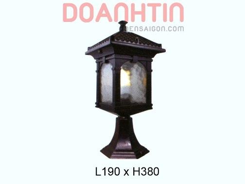 Đèn Cổng Thiết Kế Đơn Giản - Densaigon.com
