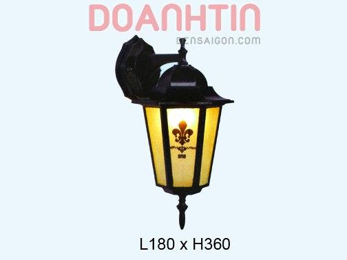 Đèn Tường Cổng Kiểu Dáng Nhẹ Nhàng - Densaigon.com