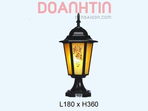 Đèn Cổng Thiết Kế Nhẹ Nhàng - Densaigon.com
