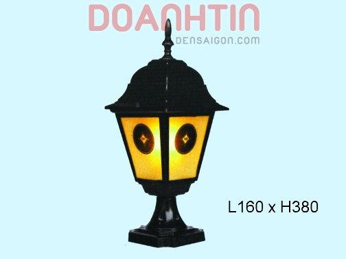 Đèn Cổng Thiết Kế Trang Nhã - Densaigon.com