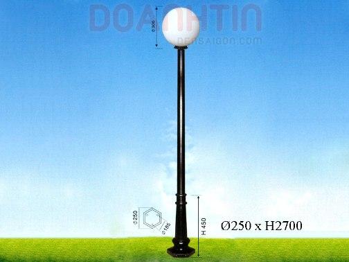 Đèn Trụ Khuôn Viên Kiểu Dáng Tối Giản - Densaigon.com