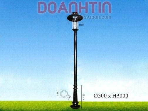 Đèn Trụ Sân Vườn Kiểu Dáng Bắt Mắt - Densaigon.com