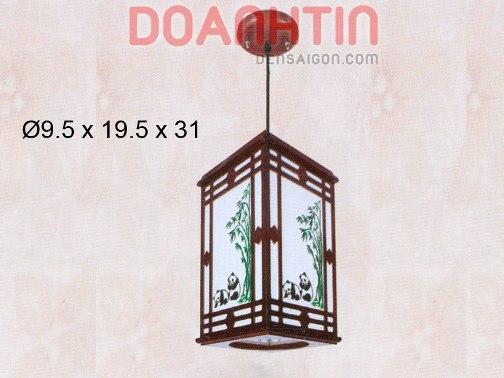 Đèn Thả Da Dê Thiết Kế Ấn Tượng - Densaigon.com