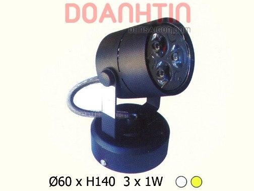 Đèn Rọi 3w Phong Cách Nổi Bật - Densaigon.com