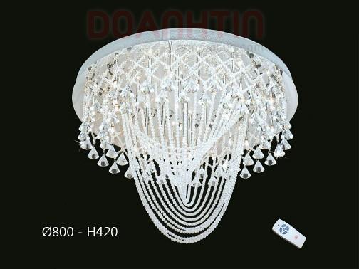 Đèn Chùm LED Tròn Thiết Kế Trang Nhã - Densaigon.com