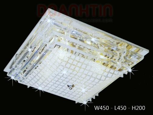 Đèn Chùm LED Trắng Hiện Đại Treo Phòng Khách Giá Rẻ - Densaigon.com