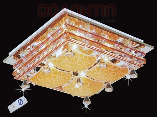Đèn Chùm LED Vuông Trang Trí Phòng Khách Giá Rẻ - Densaigon.com
