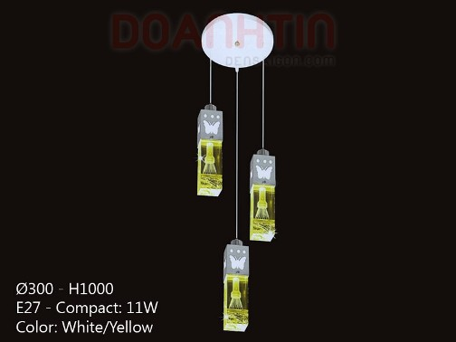 Đèn Thả Pha Lê Thiết Kế Hài Hòa - Densaigon.com