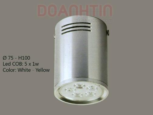 Đèn Lon Nổi LED Trang Trí Nội Thất - Densaigon.com