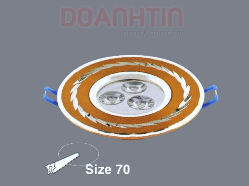 Đèn Mắt Ếch Thiết Kế Độc Đáo - Densaigon.com