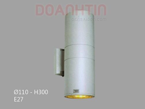 Đèn Vách Ngoại Thất Kiểu Dáng Đơn Giản - Densaigon.com