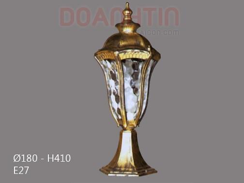 Đèn Gắn Cổng Phong Cách Hoàng Gia - Densaigon.com