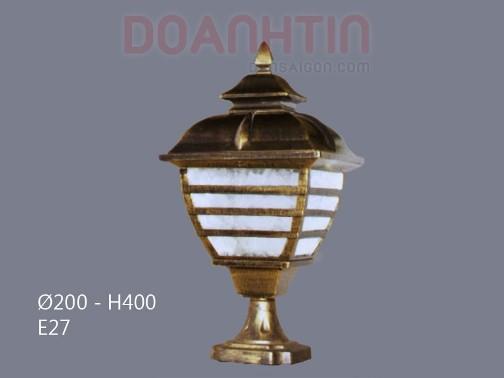 Đèn Gắn Cổng Thiết Kế Bắt Mắt - Densaigon.com