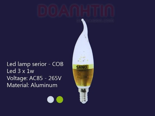 Bóng Đèn Nến LED S2709 - Densaigon.com