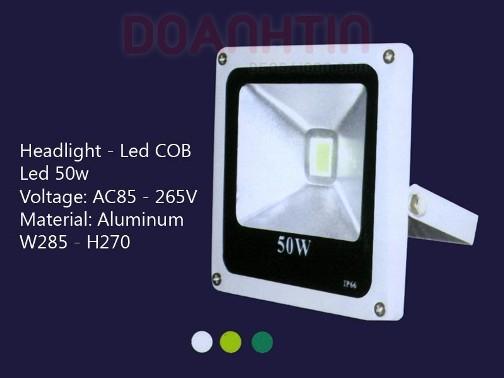 Đèn Pha LED COB 50w S2713 - Densaigon.com