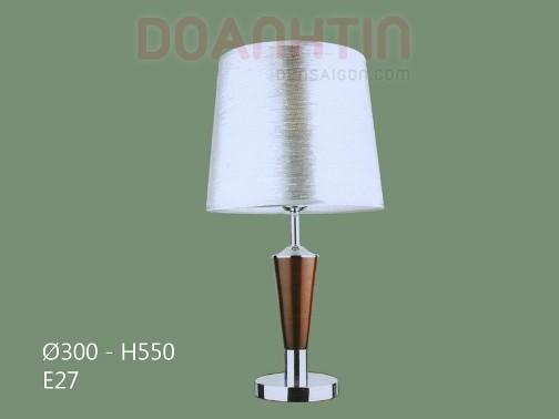 Đèn Ngủ Để Bàn Gỗ Thiết Kế Hài Hòa - Densaigon.com