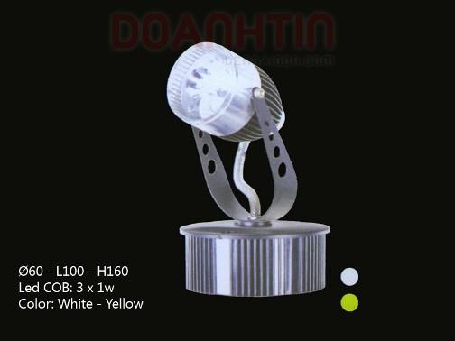 Đèn Rọi Tiêu Điểm LED Cao Cấp Trang Trí Sân Khấu - Densaigon.com