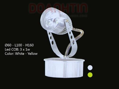 Đèn Rọi Tiêu Điểm LED Cao Cấp Mẫu Mã Đẹp - Densaigon.com