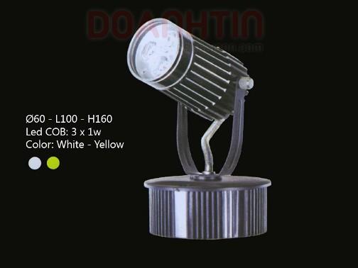 Đèn Rọi Tiêu Điểm LED Cao Cấp Thiết Kế Hiện Đại - Densaigon.com
