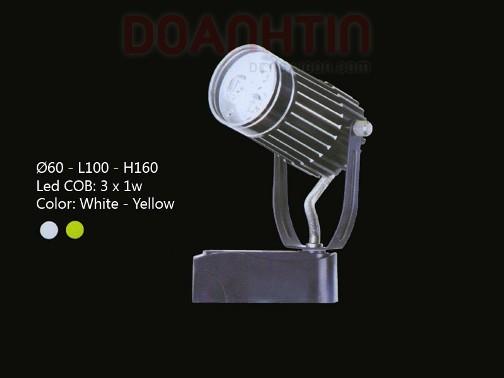 Đèn Rọi Tiêu Điểm LED Cao Cấp Thiết Kế Tối Giản - Densaigon.com
