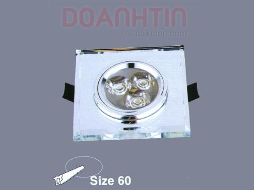 Đèn Mắt Ếch Pha Lê Cao Cấp Thiết Kế Nhỏ Gọn - Densaigon.com