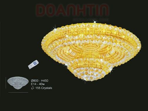 Đèn Chùm LED Pha Lê Treo Phòng Ăn Cực Đẹp - Densaigon.com
