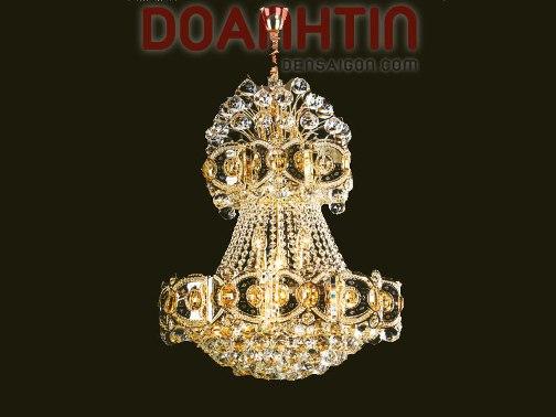 Đèn Chùm Pha Lê Phong Cách Hoàng Tộc - Densaigon.com