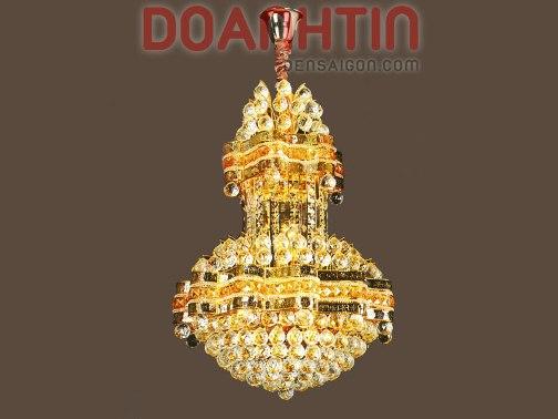 Đèn Chùm Pha Lê Hoàng Gia Treo Phòng Khách - Densaigon.com