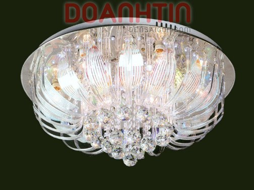 Đèn Chùm LED Tròn Kiểu Dáng Trang Nhã - Densaigon.com