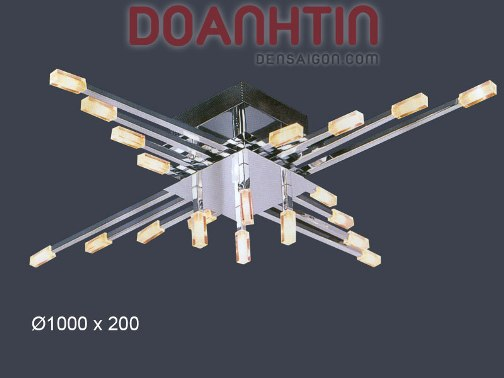 Đèn Chùm Kiểu Ý Đẹp Mắt Thiết Kế Đối Xứng - Densaigon.com