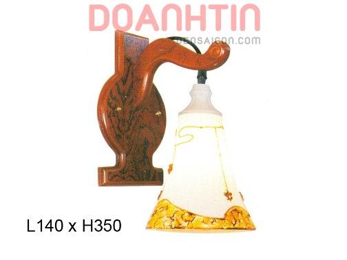 Đèn Tưởng Gỗ Thiết Kế Nổi Bật - Densaigon.com