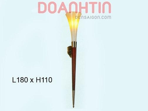 Đèn Tưởng Gỗ Thiết Kế Lạ Mắt - Densaigon.com