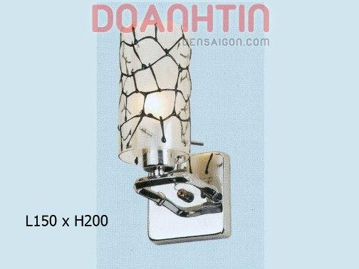 Đèn Tường Inox Trang Trí nhà Phố - Densaigon.com