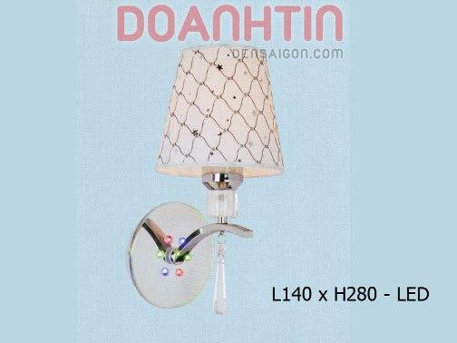 Đèn Tường Inox Phong Cách Đơn Giản - Densaigon.com