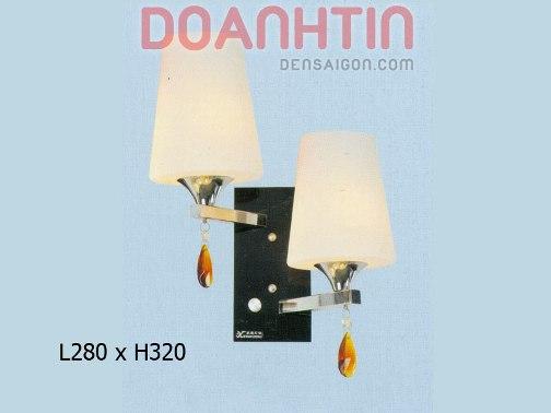 Đèn Tường Inox Dạng Đôi - Densaigon.com