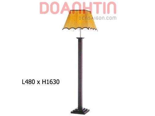 Đèn Sàn Phòng Khách Đẹp Thiết Kế Cổ Điển - Densaigon.com