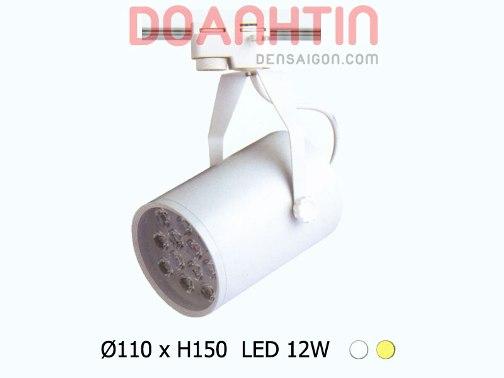 Đèn Thanh Ray LED 12w Phong Cách Hiện Đại - Densaigon.com