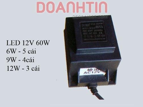 Ballats LED 12V 60W Giá Rẻ