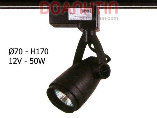 Đèn Ray Pha Rọi Tiêu Điểm LED COB 7W Màu Đen - Densaigon.com