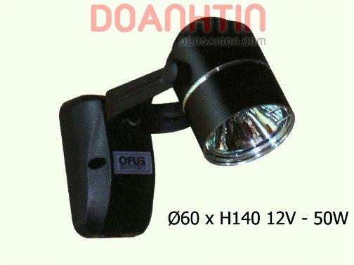 Đèn Pha Ray Màu Đen - Densaigon.com