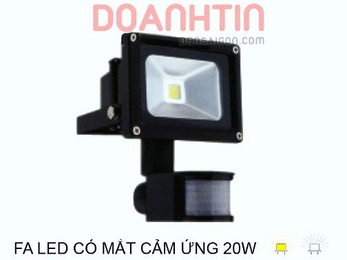 Pha LED Có Mắt Cảm Ứng 20W - Densaigon.com