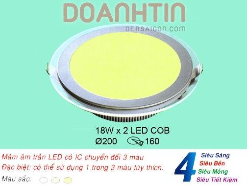 Đèn Mâm Âm Trần Phong Cách Hiện Đại - Densaigon.com