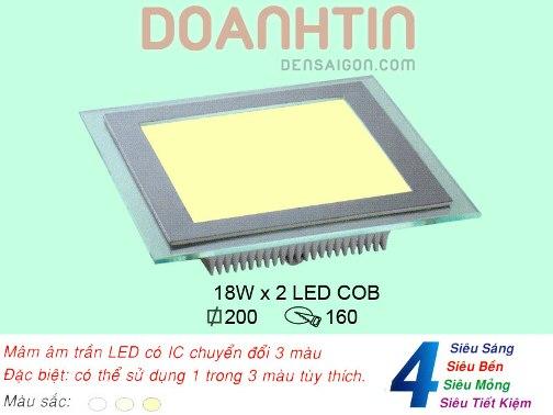 Đèn Mâm Âm Trần Thiết Kế Bắt Mắt - Densaigon.com