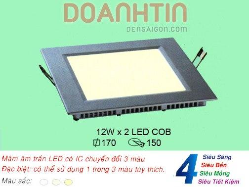 Đèn Mâm Âm Trần Trang Trí Nội Thất Biệt Thự - Densaigon.com