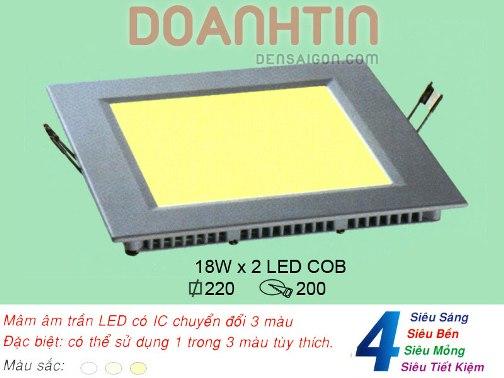 Đèn Mâm Âm Trần Thiết Kế Trang Nhã - Densaigon.com