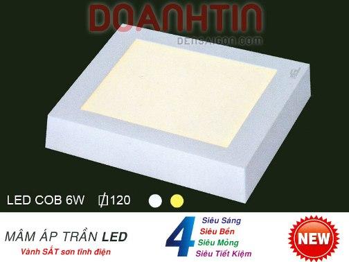 Đèn Áp Trần LED Trang Trí Khách Sạn - Densaigon.com