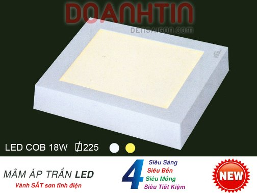 Đèn Áp Trần LED Trang Trí Nhà Phố - Densaigon.com