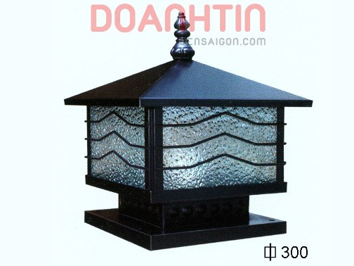 Đèn Gắn Cổng Thiết Kế Nhẹ Nhàng Ø300 - Densaigon.com
