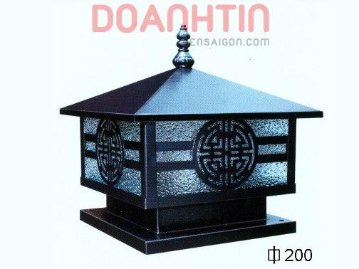 Đèn Gắn Cổng Thiết Kế Ấn Tượng Ø200 - Densaigon.com